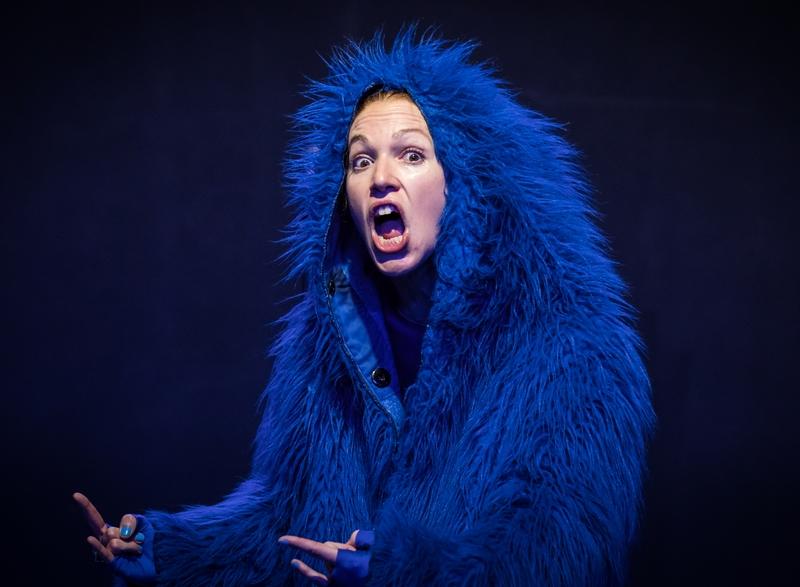L'orang-outang bleue
